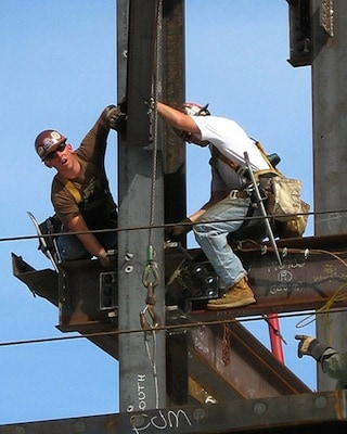 Working at height construction safety