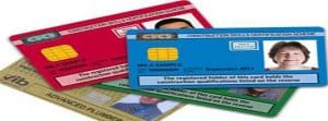 different types of cscs cards