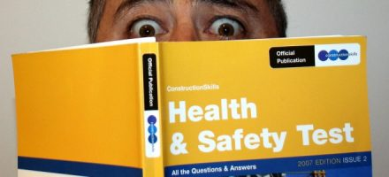 citb health and safely test book