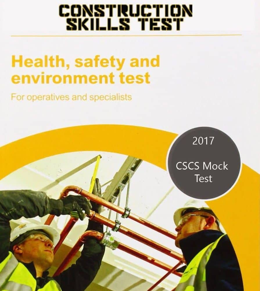 cscs mock test for operatives pdf