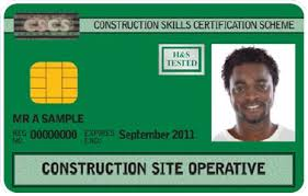 green Site Operatives card