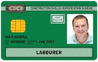 CSCS green labourer card