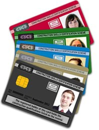 types of cscs cards