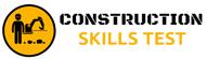 Construction skills test logo