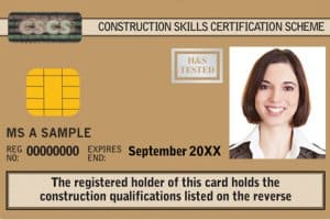 Gold CSCS Card: Advanced Craft / Supervisory
