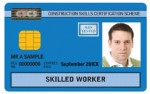 blue skilled worker cscs card