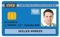 Blue CSCS Card: Skilled Worker Card