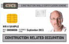 White / Grey CSCS Card: Construction Related Occupation